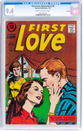 Golden Age (1938-1955):Romance, First Love Illustrated #78 File Copy (Harvey, 1957) CGC NM 9.4Cream to off-white pages....