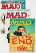 Magazines:Mad, MAD Group of 13 (EC, 1959-60) Condition: Average FN/VF.... (Total: 13 Comic Books)