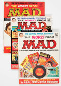 Magazines:Humor, Worst From Mad Group of 7 (EC, 1959-67) Condition: AverageFN/VF.... (Total: 7 Comic Books)