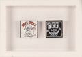 Fine Art - Sculpture, American:Contemporary (1950 to present), After Keith Haring . Two Condom Cases, n.d.. Plastic. 2-1/4x 2-1/4 inches (5.7 x 5.7 cm) (each). ...