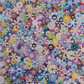 Prints & Multiples, Takashi Murakami (Japanese, b. 1962). Bouquet of Love, 2012. Offset lithograph in colors on smooth wove paper. 27-5/8 x ...