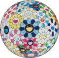 Prints & Multiples, Takashi Murakami (Japanese, b. 1962). The Flowerball's Painterly Challenge, 2014. Offset lithograph in colors on smooth ...