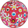 Prints & Multiples, Takashi Murakami (Japanese, b. 1962). Flowerball (3D) Papyrus, 2013. Offset lithograph in colors on smooth wove paper. 2...