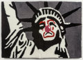 Works on Paper, After D*Face . Statue of Liberty, n.d.. Rug. 20 x 29-1/2 inches (50.8 x 74.9 cm). ...
