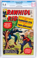Silver Age (1956-1969):Western, Rawhide Kid #40 Bowling Green Pedigree (Marvel, 1964) CGC NM 9.4Off-white to white pages....