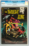 Silver Age (1956-1969):Horror, Twilight Zone #14 Twin Cities pedigree (Gold Key, 1966) CGC NM 9.4 Off-white to white pages....