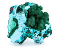 Minerals:Cabinet Specimens, Chrysocolla. Democratic Republic of the Congo. 3.91 x 3.77 x1.84 inches (9.92 x 9.58 x 4.68 cm). ...