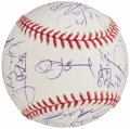 Autographs:Baseballs, 2006 Detroit Tigers, American League Champions, Team Signed WorldSeries Baseball (26 Signatures). . ...
