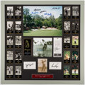 Autographs:Photos, Masters Champions Multi-Signed Display Piece (12 Signatures).. ...