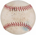 Baseball Collectibles:Balls, 2007 Mark Buehrle No-Hitter Game Used Baseball, MLB Authenticated.....