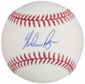 Autographs:Baseballs, Nolan Ryan Single Signed Baseball, PSA/DNA Mint+ 9.5. ...