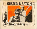 "Movie Posters:Comedy, The Navigator (Metro Goldwyn, 1924). Lobby Card (11"" X 14"").. ..."
