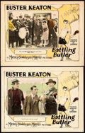 """Movie Posters:Comedy, Battling Butler (MGM, 1926). Lobby Cards (2) (11"""" X 14"""").. ...(Total: 2 Items)"""