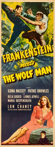 Movie Posters:Horror, Frankenstein Meets the Wolf Man (Universal, 1943)....