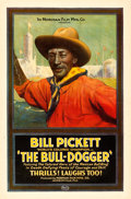 "Movie Posters:Western, The Bull-Dogger (Norman, 1921). One Sheet (27"" X 41"").. ..."