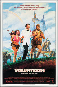 "Volunteers & Others (Tri-Star, 1985). One Sheets (4) (27"" X 41"") SS. Comedy. ... (Total: 4 Items)"