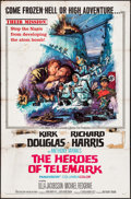 "Movie Posters:War, The Heroes of Telemark & Other Lot (Columbia, 1966). One Sheets(2) (27"" X 41""). War.. ... (Total: 2 Items)"