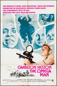 """The Omega Man (Warner Brothers, 1971). International One Sheet (27"""" X 41""""). Science Fiction"""