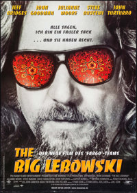 "The Big Lebowski (Polygram, 1997). German A1 (23.25"" X 33""). Comedy"