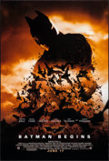 """Movie Posters:Action, Batman Begins (Warner Brothers, 2005). One Sheet (27"""" X 40"""") DS Advance. Action.. ..."""