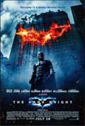 "Movie Posters:Action, The Dark Knight (Warner Brothers, 2008). One Sheet (27"" X 40"") DS Advance Style E. Action.. ..."