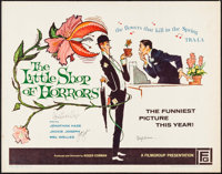 """The Little Shop of Horrors (Filmgroup, 1960). Autographed Half Sheet (22"""" X 28""""). Comedy"""