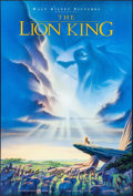 """Movie Posters:Animation, The Lion King (Buena Vista, 1994). One Sheet (27"""" X 40"""") Advance. Animation.. ..."""
