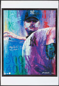 """Autographs:Others, 2003 Roger Clemens """"300/4,000"""" Signed Bill Lopa Limited EditionGiclee Print.. ..."""