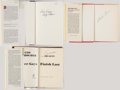 Autographs:Others, Baseball Manager Signed Book Lot of 3 with Bragan, Durocher, &Grimm.. ...