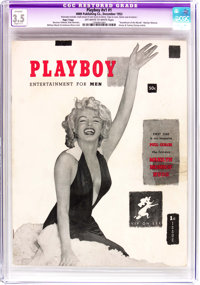Playboy #1 Page 3 Copy (HMH Publishing, 1953) CGC Apparent VG- 3.5 Off-white to white pages