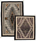 American Indian Art:Weavings, Two Navajo Regional Rugs. c. 1960. ... (Total: 2 Items)