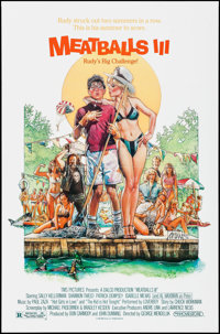 "Meatballs III: The Summer Job & Others Lot (Moviestore Entertainment, 1986). One Sheets (4) (27"" X 41""..."