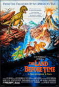 "Movie Posters:Animation, The Land Before Time & Others Lot (Universal, 1988). One Sheets (4) (27"" X 40"" & 27"" X 41"") DS. Animation.. ... (Total: 4 Items)"