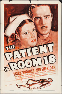"The Patient in Room 18 (Warner Brothers, 1938). One Sheet (27"" X 41""). Mystery"