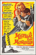 """Movie Posters:Drama, A Matter of Morals & Other Lot (United Artists, 1961). One Sheets (2) (27"""" X 41""""). Drama.. ... (Total: 2 Items)"""