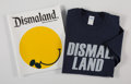 Fine Art - Work on Paper:Print, After Banksy . Dismaland Bemusement Park (three works), 2016. Offset lithograph poster and booklet with cotton t-shirt. ... (Total: 3 Items)