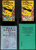 """Movie Posters:Science Fiction, The War of the Worlds by H.G. Wells and Others Lot (Scholastic,1972). Paperback Books (2) (286 Pages, 4.25"""" X 7""""), & Hardco...(Total: 4 Items)"""