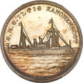 China, China: Boxer Rebellion silver Specimen Medal on the Bombardment of the Taku Forts on June 17, 1900, SP63 PCGS,...
