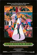 "Movie Posters:Animation, American Pop & Other Lot (Columbia, 1981). One Sheets (2) (27""X 41"") Wilson McLean Artwork. Animation.. ... (Total: 2 Items)"
