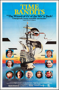 "Time Bandits (Embassy, R-1982). One Sheet (27"" X 41""). Fantasy"
