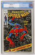 Bronze Age (1970-1979):Superhero, The Amazing Spider-Man #100 (Marvel, 1971) CGC VF/NM 9.0 Off-white to white pages....