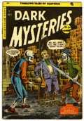 Golden Age (1938-1955):Horror, Dark Mysteries #20 (Master Publications, 1954) Condition: FN/VF....