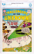Silver Age (1956-1969):Superhero, Challengers of the Unknown #23 (DC, 1962) CBCS NM+ 9.6 Off-white pages....