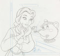 "Animation Art:Production Drawing, Beauty and the Beast ""Where's Chip"" Book PreliminaryDrawings Group (Walt Disney/Grolier, 2004).... (Total: 28 Items)"