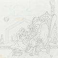 Animation Art:Concept Art, Beauty and the Beast Album Cover Concept Art (Walt Disney,c. 1990s).... (Total: 2 Items)