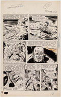 Original Comic Art:Panel Pages, Dick Dillin (attributed) Whiz Comics #124 Story Page 5Original Art (Fawcett, Year)....