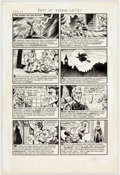 Original Comic Art:Complete Story, Howard Nostrand Tomb of Terror #12 Complete Story OriginalArt (Harvey Comics, 1953)....