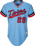 Baseball Collectibles:Uniforms, 1978 Rod Carew Game Worn Minnesota Twins Jersey, MEARS A10.. ...