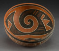 American Indian Art:Pottery, A Four-Mile Polychrome Bowl. c. 1100 - 1300 AD. ...