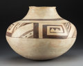 American Indian Art:Pottery, A Large Jeddito Storage Jarc. 1200 - 1300 AD